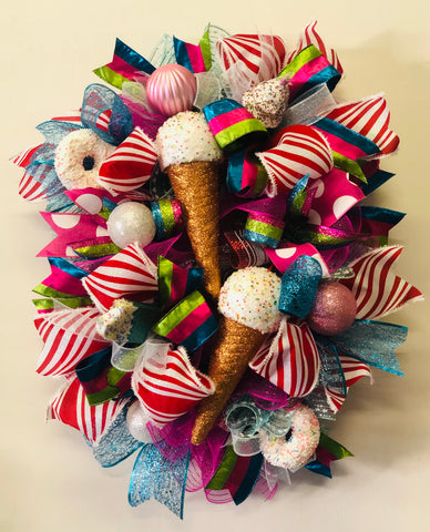 Ice Cream Wreath