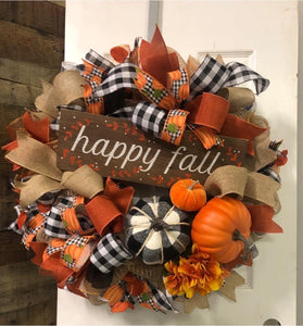 Fall Wreath Kit