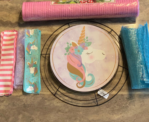 Unicorn Wreath Kit