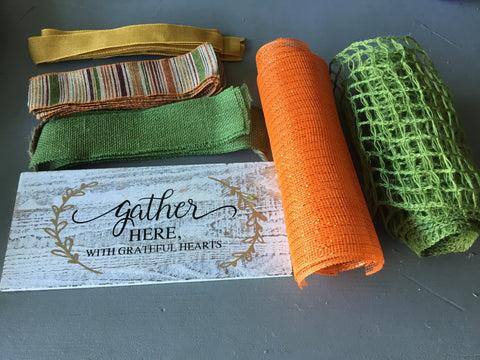 Gather Fall Wreath Kit