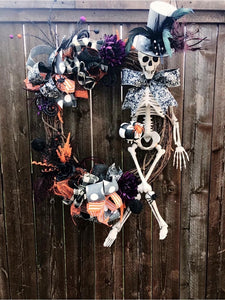 Mr Bones Wreath