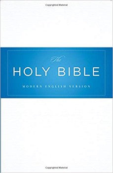 MEV Thinline Reference Bible - Hardcover