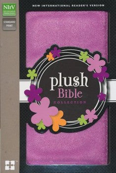 NIrV Thinline Plush Bible - Purple Sparkle