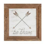 Farmhouse Frame Art - Be Brave