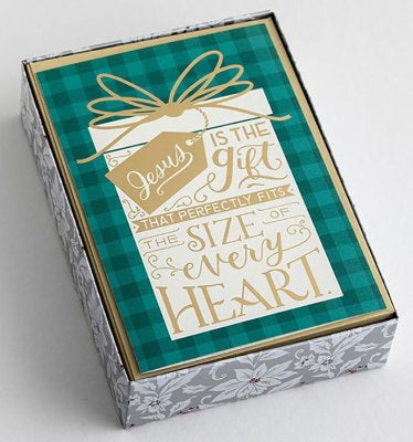 Boxed Christmas Cards - Jesus is the Gift