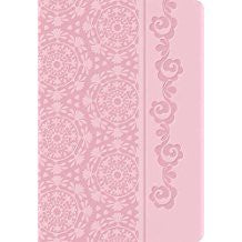 NKJV Devotional Bible for Women - Pink Leathersoft