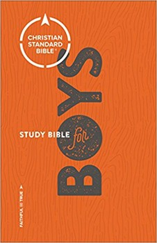 CSB Study Bible for Boys - Hardcover
