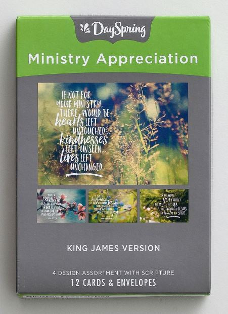 Boxed Cards - Ministry Appreciation Nature