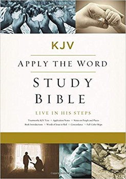 KJV Large Print Apply the Word Study Bible - Hardcover