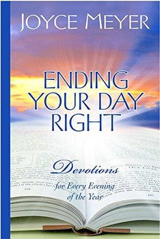 Ending Your Day Right Devotional (Hardcover)