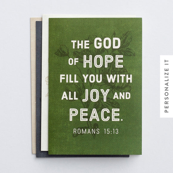 Boxed Cards - Blank KJV Scripture