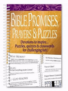Bible Promises, Prayers & Puzzles