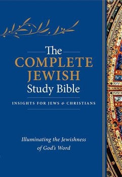 The Complete Jewish Study Bible - Flexisoft Blue