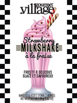 Milkshake Drink Mix - Strawberry