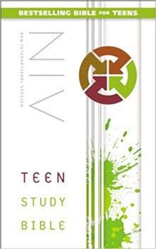 NIV Teen Study Bible - Softcover