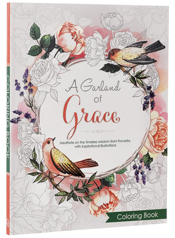 Colouring Book - A Garland of Grace