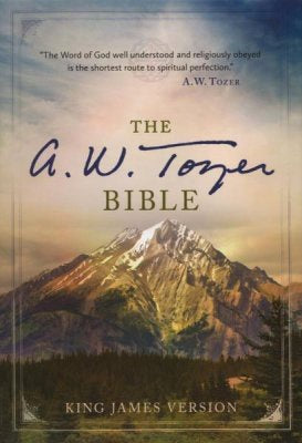 KJV The A. W. Tozer Bible - LeatherSoft Brown/Teal