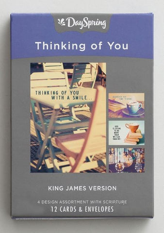 Boxed Cards - Thinking of You KJV