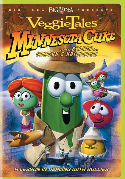 Minnesota Cuke and the Search for Samson's Hairbrush DVD