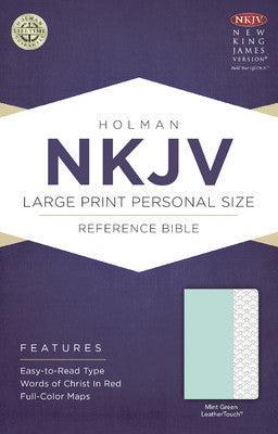 NKJV Large Print Bible - Mint