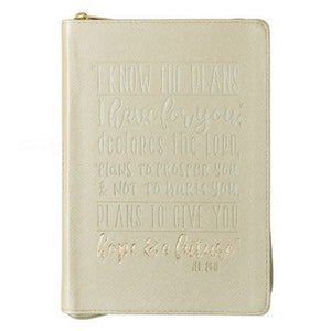 Journal - I Know the Plans Zippered