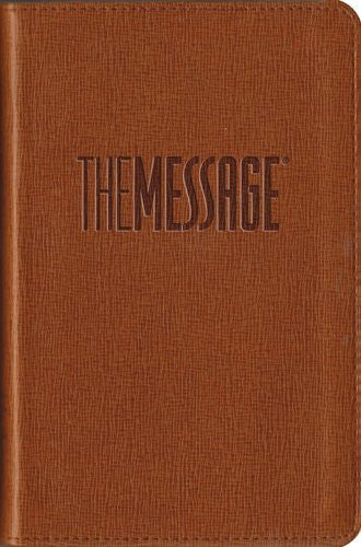 The Message Compact Bible - Tan