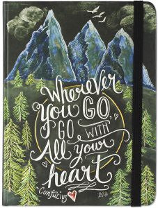 Journal - Wherever You Go, Go With All Your Heart