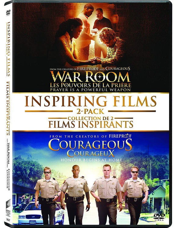Inspiring Films Double Feature DVD - Courageous/War Room