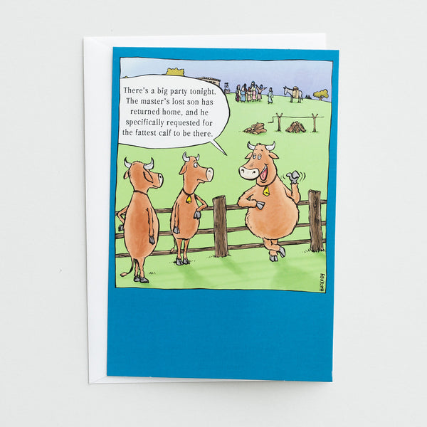 Card - Birthday Calf