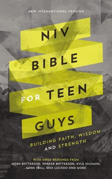 NIV Bible for Teen Guys - Hardcover