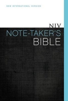 NIV Note-Taker's Bible - Hardcover