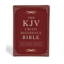 KJV Cross Reference Bible - Burgundy Hardcover