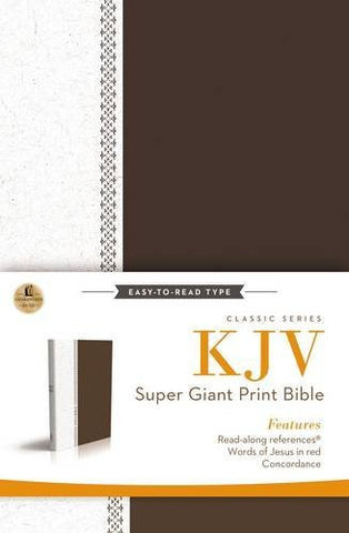 KJV, Reference Bible- Super Giant Print
