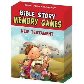 Bible Story Memory Game - New Testament
