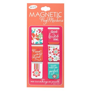 Magnetic Pagemarker Set - All Things Are Possible