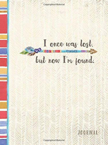 Journal -I Once Was Lost