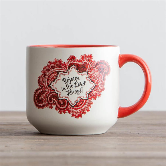 Jumbo Mug - Rejoice in the Lord Always