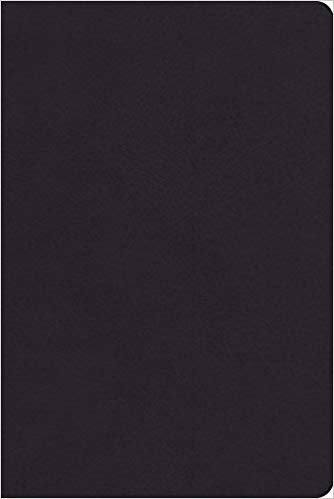ESV Personal Reference Bible - Black