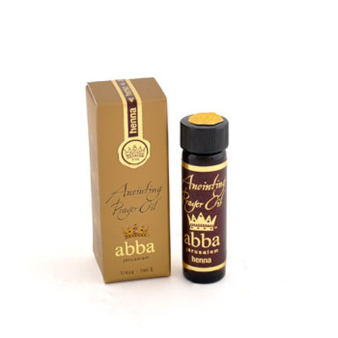 Anointing Prayer Oil - Henna - 1/2 oz - 14ml
