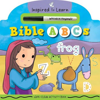 Bible ABCs - Wipe-Clean Activity Book