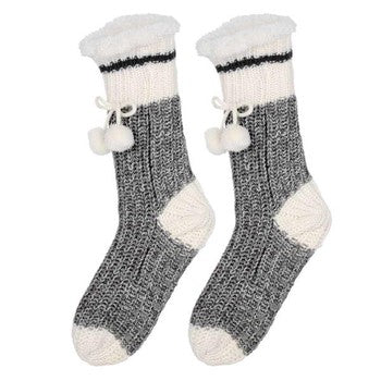 Knit Socks - Black