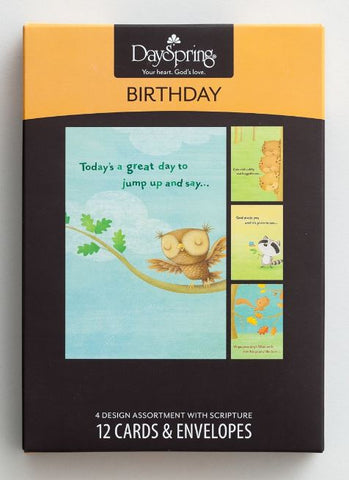 Boxed Cards - Birthday Woodland Creatures