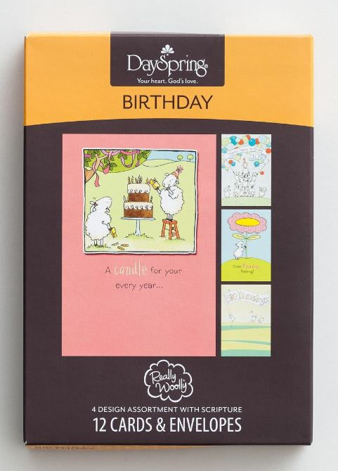 Boxed Cards - Really Woolly Birthday