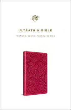 ESV UltraThin Bible - Berry