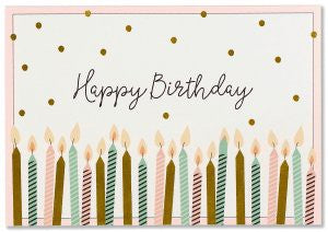 Boxed Note Cards - Happy Birthday