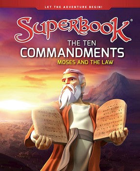 Superbook: The Ten Commandments - Moses And The Law