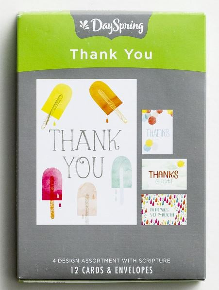 Boxed Cards - Thank You Blank