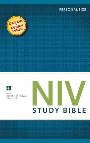 NIV Personal Size Study Bible - Full Colour