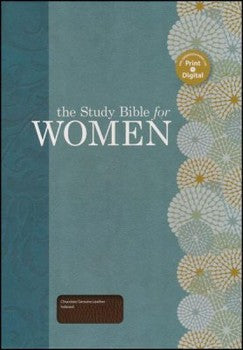 HCSB The Study Bible for Women - Brown Genuine Leather Indexed