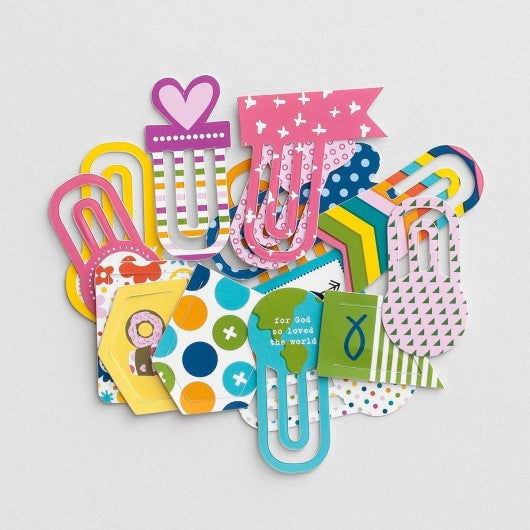 Bible Journaling Clips - Colourful
